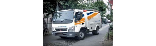 Street sweeper vehicles