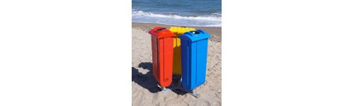 Beach and park waste collection