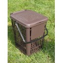 Perforated curbside bin 7 Lt (1,84 gal)